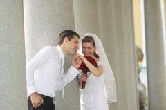 Celebrazione di giorno delle nozze Fotografia Stock