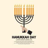 Celebrazione di giorno di Chanukah Fotografia Stock Libera da Diritti