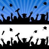 Celebrazione di giorno di graduazione Fotografia Stock