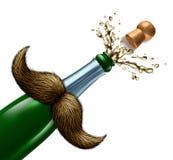 Celebrazione di giorno di padri illustrazione di stock