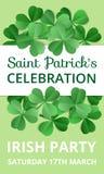 Celebrazione di giorno di Patricks del san Immagini Stock Libere da Diritti