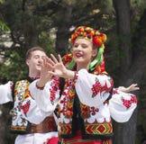 Celebrazione di giorno di Team Of Ukrainian DancersAt Canada Immagine Stock
