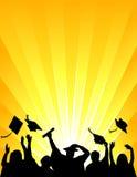 Celebrazione di graduazione Immagine Stock