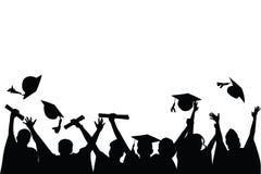 Celebrazione di graduazione Immagini Stock Libere da Diritti