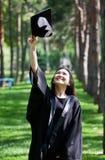 Celebrazione di graduazione immagini stock