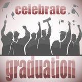 Celebrazione di graduazione royalty illustrazione gratis
