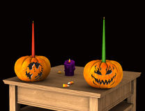 Celebrazione di Halloween Immagini Stock Libere da Diritti