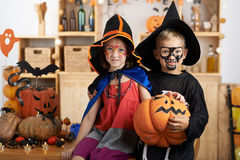 Celebrazione di Halloween Fotografia Stock Libera da Diritti