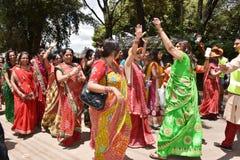 Celebrazione di indù nel Kenya Immagini Stock