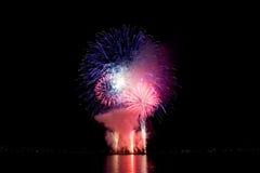 Celebrazione di luce in baia inglese, Vancouver Immagini Stock