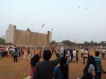 Celebrazione di Makar Sankrant, Mumbai, India Immagine Stock Libera da Diritti