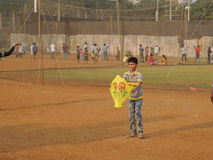 Celebrazione di Makar Sankrant, Mumbai, India Fotografie Stock Libere da Diritti