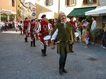Celebrazione di Medio Evo fotografie stock
