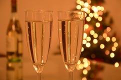 Celebrazione di natale e di nuovo anno Immagine Stock