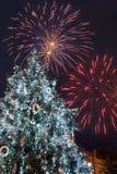 Celebrazione di notte di San Silvestro Immagine Stock