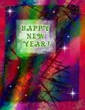 Celebrazione di nuovo anno fotografia stock libera da diritti