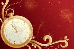 Celebrazione di nuovo anno illustrazione di stock