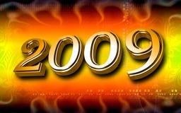 celebrazione di Nuovo-anno Fotografia Stock Libera da Diritti