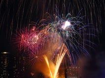 Celebrazione di nuovo anno felice Immagine Stock