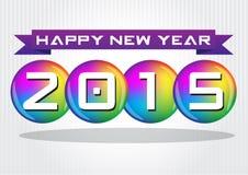 Celebrazione di nuovo anno felice Fotografia Stock