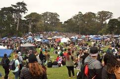 Celebrazione 420 di San Francisco 2015 Immagini Stock