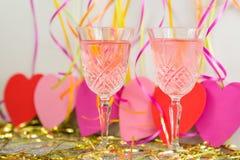 Celebrazione di San Valentino Fotografia Stock