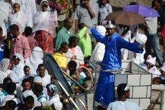 Celebrazione di Timkat in Etiopia Immagine Stock Libera da Diritti