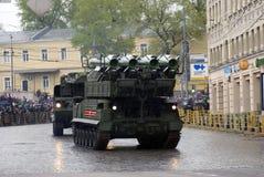 Celebrazione di Victory Day a Mosca tanks fotografia stock libera da diritti