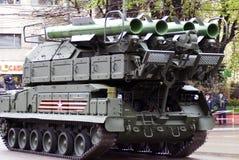 Celebrazione di Victory Day a Mosca tanks fotografia stock