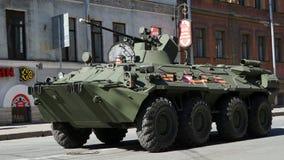Celebrazione di Victory Day: pistola automotrice, SPG Immagini Stock