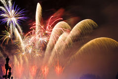 Celebrazione e felicità Fotografia Stock