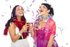 Celebrazione felice del partito Fotografie Stock