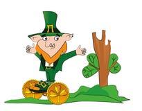 Celebrazione felice di giorno della st Patricks royalty illustrazione gratis