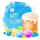 Celebrazione felice di Pasqua royalty illustrazione gratis