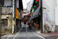 Celebrazione giapponese a Tokyo fotografie stock