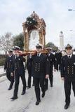 Celebrazione greco ortodossa di San Nicola Fotografia Stock