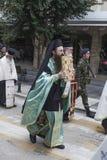 Celebrazione greco ortodossa di San Nicola Fotografie Stock Libere da Diritti