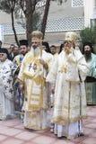 Celebrazione greco ortodossa di San Nicola Fotografia Stock Libera da Diritti