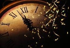 Celebrazione il nuovo anno fotografia stock libera da diritti