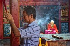 celebrazione lunare Samarang del nuovo anno 2567 Immagini Stock Libere da Diritti