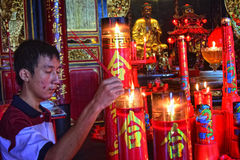 celebrazione lunare Samarang del nuovo anno 2567 Immagine Stock