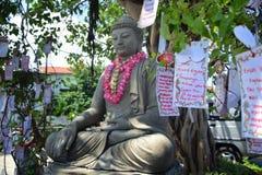 celebrazione lunare Samarang del nuovo anno 2567 Fotografia Stock Libera da Diritti