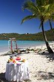 Celebrazione nel paradiso Fotografia Stock Libera da Diritti