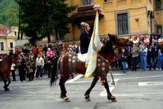 Celebrazione nella città di Brasov 4 Fotografie Stock