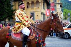 Celebrazione nella città di Brasov 7 Immagini Stock Libere da Diritti