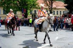 Celebrazione nella città di Brasov 8 Fotografia Stock