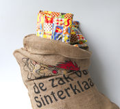 Celebrazione olandese di Sinterklaas Fotografia Stock Libera da Diritti