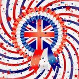 Celebrazione olimpica di Londra 2012 Fotografia Stock
