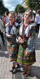 Celebrazione ricamo e del borscht_10 Fotografia Stock Libera da Diritti