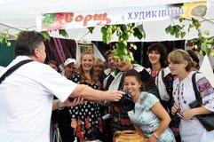 Celebrazione ricamo e del borscht_4 Immagine Stock